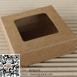 กล่องกระดาษสีน้ำตาลโชว์สินค้า 2.5x8x8 cm. 50 ชิ้น : 004467