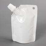 ถุงซองพลาสติกแบบมีฝาปิดด้านข้างตั้งได้ 7x10+2 cm. (50 ml.) 100 ชิ้น : 1H004979