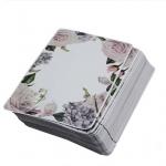 ซองฟอยล์ลายดอกกุหลาบขาว 9x13 cm. 100 ชิ้น : 1A004540