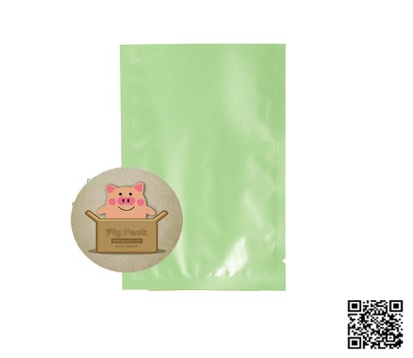 ซองฟอยล์สีเขียวเงา 100 ชิ้น (คลิกเพื่อเลือกขนาด)