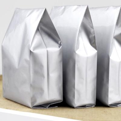 ถุงซองฟอยล์สีบรอนซ์เงินขยายข้างตั้งได้ 100 ชิ้น (คลิกเพื่อเลือกขนาด)