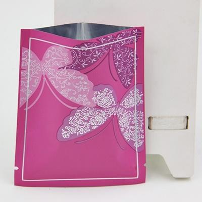 ซองฟอยล์สีชมพูลายผีเสื้อ 11x15 cm. 100 ชิ้น : L004664