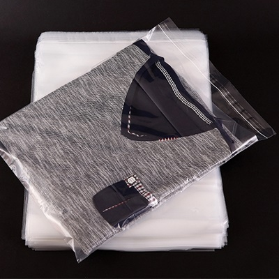 ถุงพลาสติกใสแบบมีเทปกาว 100 ชิ้น (คลิกเพื่อเลือกขนาด)