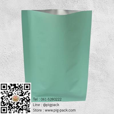 ซองฟอยล์พาสเทลสีเขียว 4x6 นิ้ว 100 ชิ้น : 004478