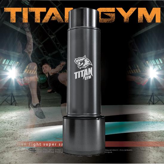 กระสอบทรายตั้งพื้นรุ่น TitanGym ใช้ในFitness