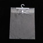 ถุงซองพลาสติกใสแบบกระดุมล็อคมีที่แขวน 22x30 cm. 50 ชิ้น : R004695