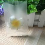 ถุงซองขุ่นขอบหยักซีลกลาง 100 ชิ้น (คลิกเพื่อเลือกขนาด)