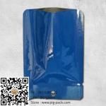 ซองฟอยล์เนื้อเงาสีน้ำเงินมีรูแขวน 10x14 cm. 100 ชิ้น : L004665