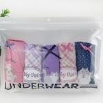 ซองซิป Underwear สีขาว 24.4x17.6 cm. 50 ชิ้น : 004582
