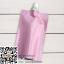 ถุงซองพลาสติกสีชมพูแบบมีฝาปิดด้านบน(แบบซีลปิดก้น) 6.5x10 cm. (50 ml.) 100 ชิ้น : 005659