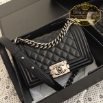 Chanel Boy small flap bag สีดำ งานHiend Original