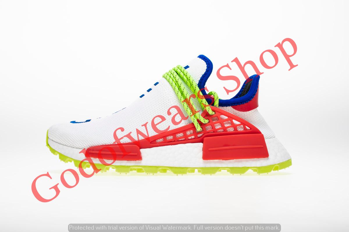 40b5a45ab21cb Adidas NMD Boost Human Race Creme X PW - GodofWears   Inspired by  LnwShop.com