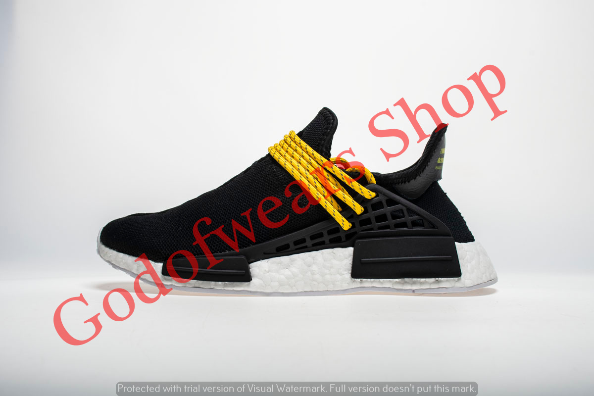 895a631e940bd Adidas NMD Boost Human Race Black - GodofWears   Inspired by LnwShop.com