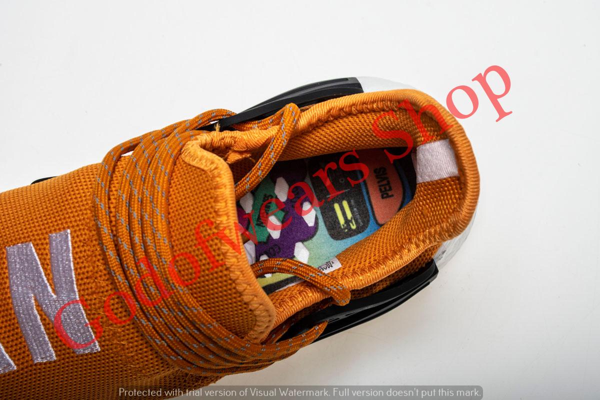3ee30b7cee0d8 Adidas NMD Boost Human Race Orange - GodofWears   Inspired by ...